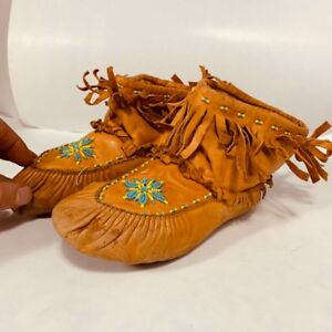 *HAND MADE - mocassin - femme taille 7*
