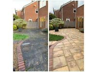 DH GARDENS PRESSURE JETWASH DRIVEWAYS PATIOS ROOF TILES STEPS BRICKWORK AND MUCH MORE