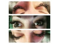 OFFER TILL END OF WEEK!!'Semi pernament eyelash extension