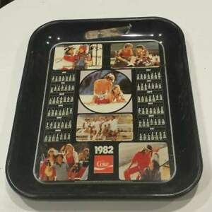 1982 COCA-COLA SERVING TRAY CALENDAR
