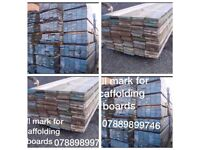 Scaffolding boards (used )
