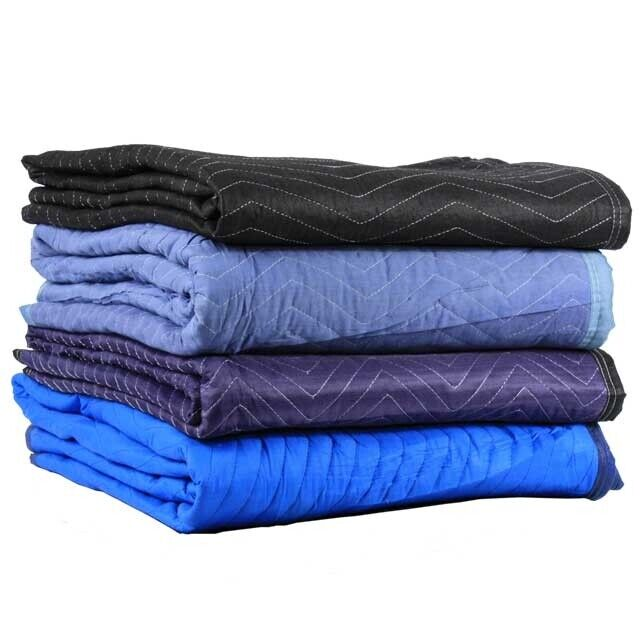 4-Pack Miscellaneous Moving Blankets / Furniture Pads