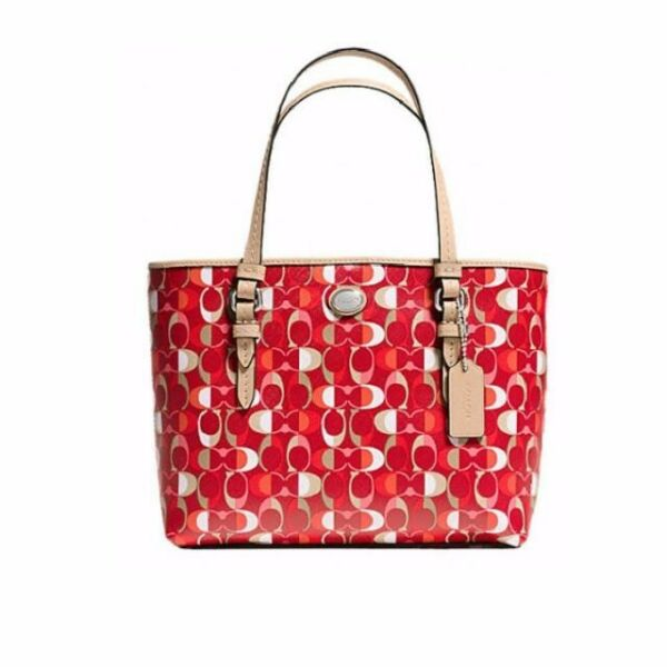 COACH Peyton Dream C Print Top Handle Tote