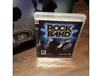 Rock Band Drum Kit, Guitar and Playstation 3 Game