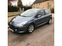 2007 (57) Peugeot 307 S 1.6 16v 3 door ONLY 7,030 MILES GENUINE CLASSIC CAR
