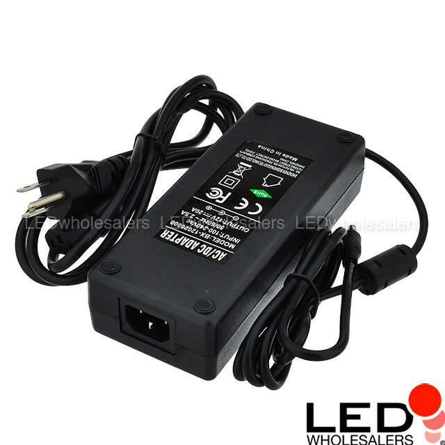 12v 20a 240w ac dc power adapter