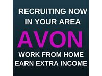 Earn extra money, £300 Free Gifts, Have Fun with Avon