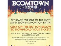 BoomTown Fair Festival 2016 Adult Weekend Camping