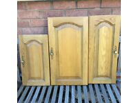 Kitchen cupboard doors - Solid oak