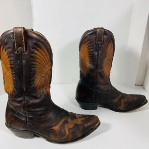 BOULET - bottes cuir - leather - homme taille 9.5 US