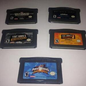 GAMEBOY ADVANCE GAMES - 5 GAMES FOR $35
