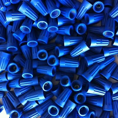 Blue Wire Connector Bag Of 1000 Nuts Twist Type