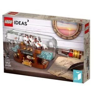 LEGO IDEAS #21313, Ship in a Bottle
