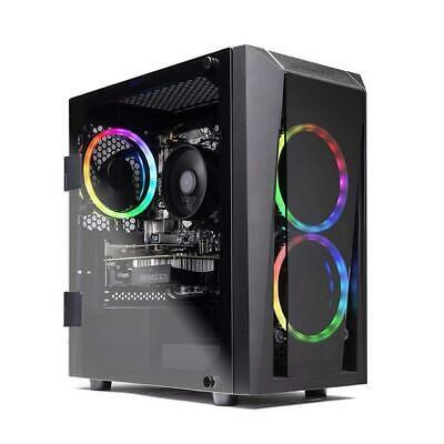 SkyTech Blaze II Gaming Computer PC Desktop – Ryzen 5 2600 GTX 1650 4G