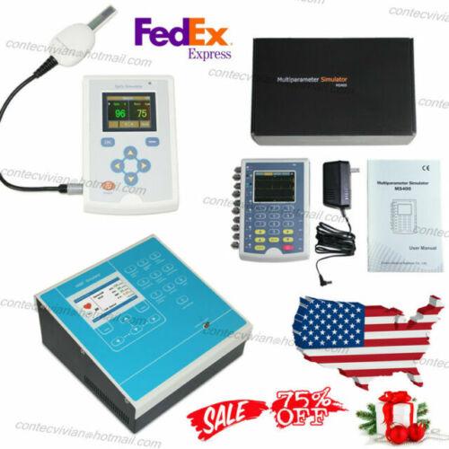 CONTEC MS400 ECG IBP Patient Simulator,MS100 SpO2 Simulator,MS200 NIBP Simulator