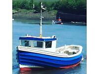 Fishing boat (coble)