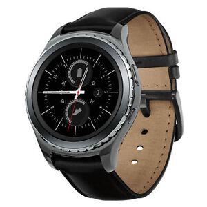 Samsung-R735-SM-R735V-Gear-S2-Classic-Black-SmartWatch-GSM-Unlocked