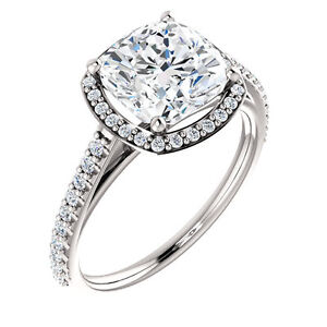 Moissanite - More Brilliance & Fire than Diamonds! Get the ring you always wanted!
