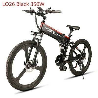"Samebike26"" Electric Bike 21 Speed 10AH 48V 350W E Bike Electric MTB Foldable UK"