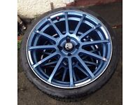18 inch Alloys Wheels!Good condition!!!!!!