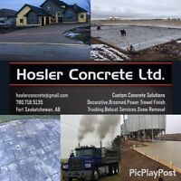 Experienced & Quality Concrete Services/Snow Removal-Free Quotes