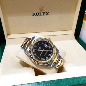 100% Authentic Rolex Datejust II 41mm 2015 Model 116333