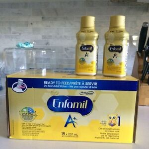 42 Bottles of Enfamil A+ Ready to Feed Formula