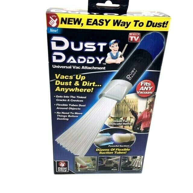 AS SEEN ON TV DUST DADDY UNIVERSAL VAC ATTACHMENT FITS ANY V