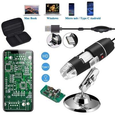Jiusion 1600x Usb Endoscope Digital Microscope Magnification With Portable Case