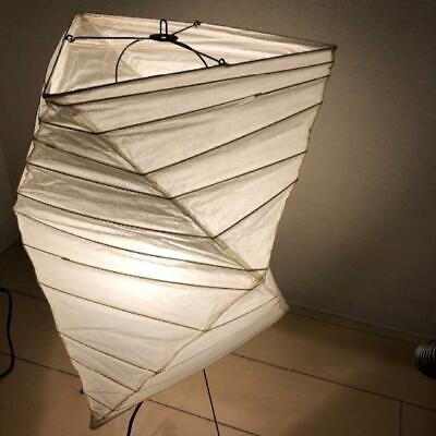 Isamu Noguchi AKARI 26N Floor lamp Washi Paper Japanese Light Used