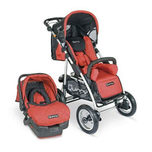 Quinny freestyle stroller Red