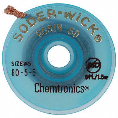 Chemtronics 80-5-5 Soder Wick Rosin Desoldering Braid