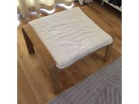 Poang footstool by Ikea