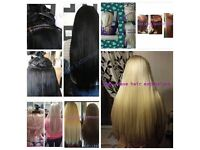 Mobile weave hair extensions fitted from **£45**