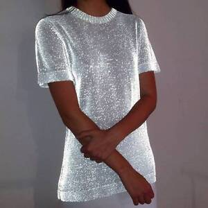 Dion Lee Reflective Knit Tee Size 6 BNWT Trangie Narromine Area Preview