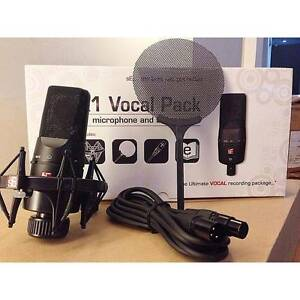 sE Electronics X1 Studio Microphone Vocal Pack + mic stand Somers Mornington Peninsula Preview
