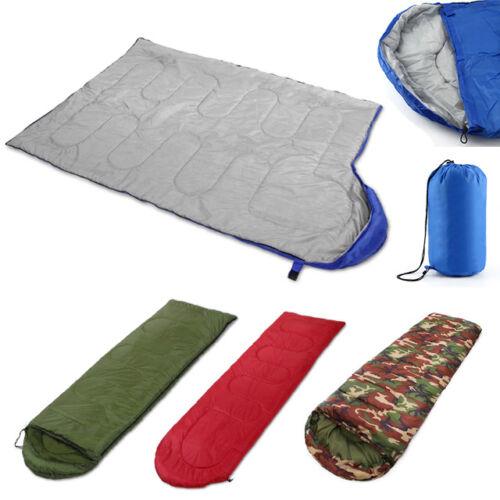 4 Season Waterproof Single Adult Camping Hiking Suit Envelope Case Sleeping Bag