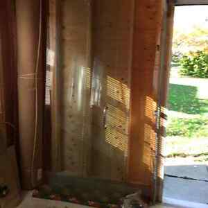 Shower Glass Panels, Door & Hardware