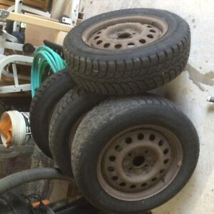 Winter Claw Tires 195/65R15