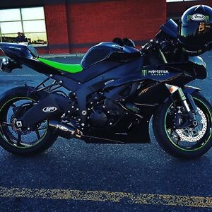 Zx6r 2009 Monster edition