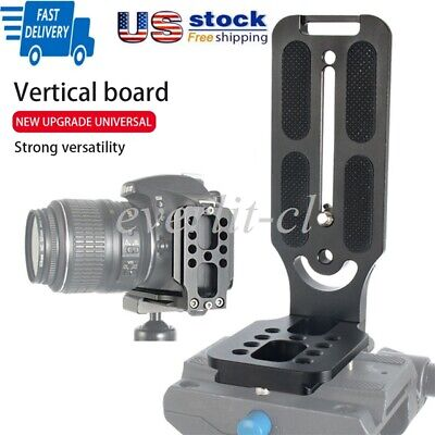 Arca Swiss Quick Release L Plate Bracket Holder Hand Grip For Canon Nikon Sony