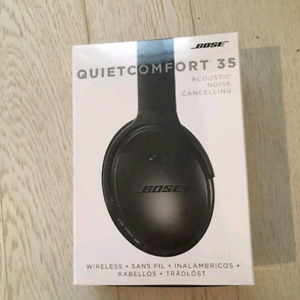Bose Quiet Comfort 35 Black and Silver Available. SEALED BOX
