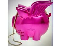 """KATE SPADE NEW YORK """"Flying Pig"""" Clutch bag with hideaway cross body strap"""