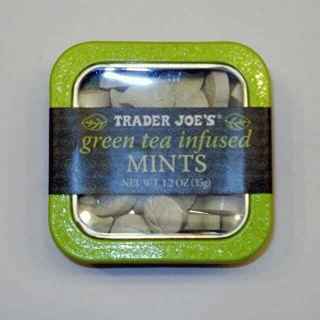 Trader Joe's Green Tea Infused Mints. Pack of 4