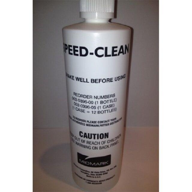 MIDMARK SPEED CLEAN SPEED-CLEAN AUTOCLAVE STERILIZER CLEANER 16 OZ BOTTLE RITTER