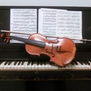 Pianist and violinist available for WEDDINGS and SPECIAL EVENTS