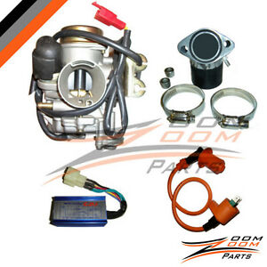 GY6-150cc-Performance-30mm-Carburetor-Intake-Coil-CDI