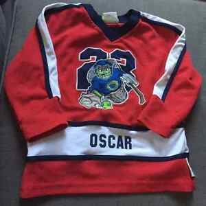 Sesame Street official hockey jersey - size 4