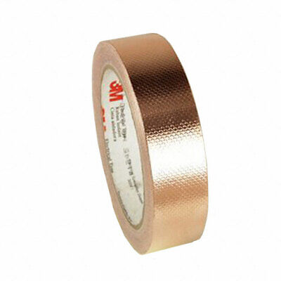 3m 1245 Emi Embossed Copper Shielding Foil Adhesive Tape18yds X 1