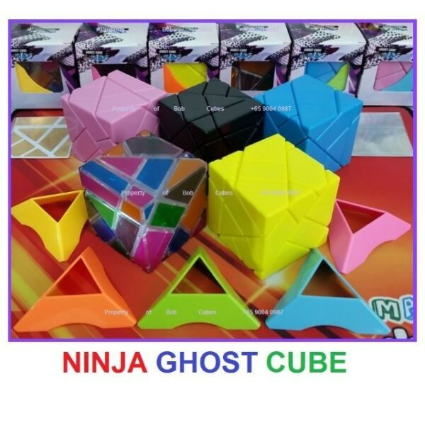 - Ninja Ghost Cube 3x3 Rubiks Cube for sale in Singapore